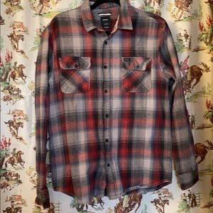 RVCA thick flannel shirt